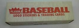 Baseball Cards -FLEER Logo Stickers & TRADING- 1989 Set - 8614-A MINT- S1 - $8.74