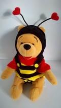 "Disney 'Winnie the Pooh' Bee Hearts Soft Plush Stuffed Bean Bag Doll 8"" ... - $6.92"