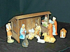 Christmas Nativity Scene by Homco AA20-7452 Vintage