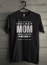Hockey mom just like a normal Men's T-Shirt - Custom (3176) - $19.12+