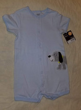 Carter's Baby Boy, Cotton, Cute Dog Appliques Bodysuit, Size 12 Months.NWT - $9.89
