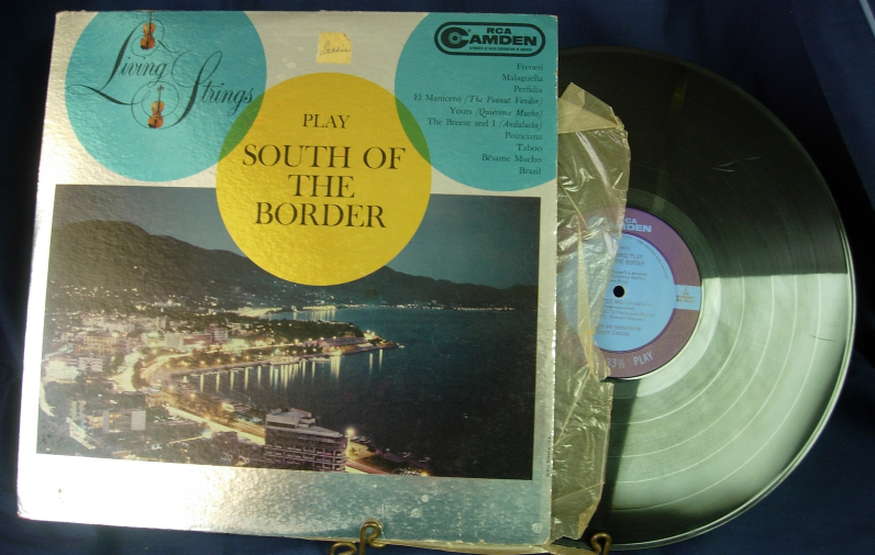Living Strings play South of the Border - RCA Camden CAL 682
