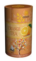 Lions Tea Orange, Pure Ceylon Black Tea 15 Pyramid Tea Bags - $8.75