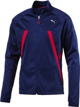 Puma Men's Vent Thermo R Runner Jacket Storm Cell Blue Depths Size L, XL, 2XL - $69.99