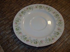 017#   Johann Haviland Forever Spring Floral Band Tea Coffee Cup Saucer Bavaria  - $7.91