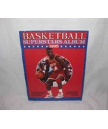 Neat 1995 BASKETBALL Superstars Album Book & Posters - $19.27