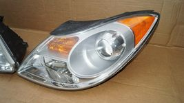 07-12 Hyundai Veracruz Halogen Headlight Head Lights Matching Set LH&RH POLISHED image 3