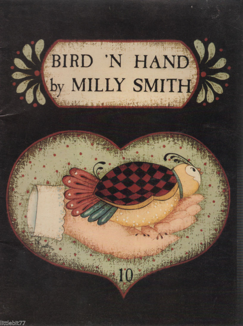 Primary image for Bird N' Hand by Milly Smith #10 Painting Book