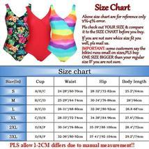 Womens One Piece Monokini Swimsuit Swimwear Beachwear Push Up Bathing Bikini image 2