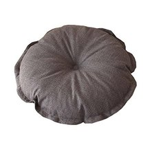 Flower Floor Pillow Seating Cushion for a Reading Nook/Bed Room/Watching TV,Gray - $21.07