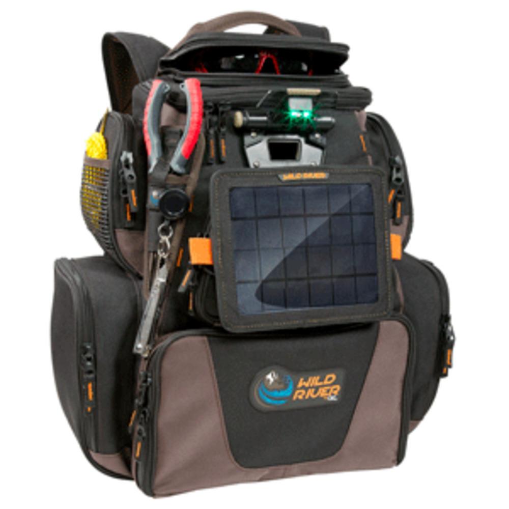 Wild River Tackle Tek Nomad XP Lighted Backpack w/USB Charging System, SP01 Sola - $216.97