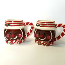 Tien Hsing Trading Company Gingerbread Mug with Candy Cane Handle - $14.85