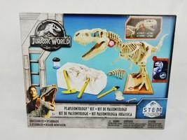 Jurassic World Playleontology Kit STEM T-Rex Bones Excavate & Build Mattel - $16.83