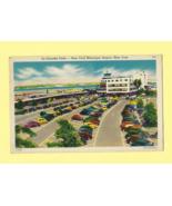 Vintage Color Post Card   LA GUARDIA FIELD, NEW YORK MUNICIPAL AIRPORT, ... - $6.50