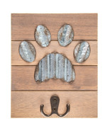 Dog Paw Wood Wall Hook Home Decoration Office Decor - $29.97