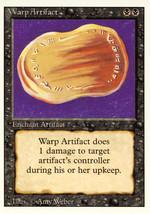 Magic: The Gathering 3rd Edition - Warp Artifact - $0.25