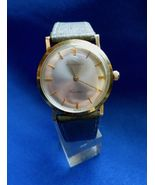 Longines Cosmo Round Yellow Gold Filled Hand Wound Wrist Watch 17 Jewel - $110.00
