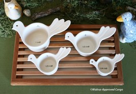 URBAN OUTFITTERS NESTING BIRDS MEASURING CUPS (4) -NWT- JUST WING IT FOR... - $39.95
