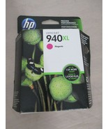 HP 940XL Magenta Ink Cartridge C4908AN New Expire Jan 2016 FREE SHIPPING  - $12.99