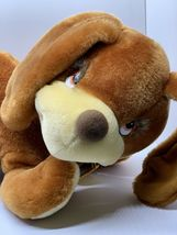"Sunburst Pets 1983 Vintage Plush Brown Dog Commonwealth Vtg Stuffed Animal 13"" image 3"