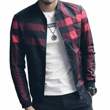 2018 New Autumn Winter Men's Jackets Patchwork Casual Brand Clothing St... - $45.90