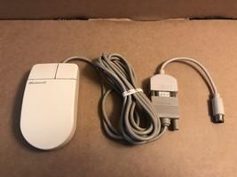 Vintage Microsoft 2 Button Serial Mouse Part 07685 FCC ID C3k5kcomb - $9.85