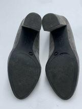 "Jessica Simpson 8.5 Belemo Gray Suede Pumps 4"" High Heels Shoes image 7"