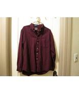 Vintage Sir Pendleton Country Traditionals Wool Burgundy Herringbone shi... - $50.00