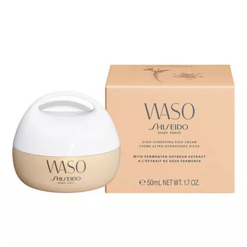 Primary image for Shiseido WASO Giga Hydrating Rich Cream SoyBean Extract 50ml NIB