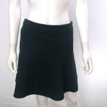 Ann Taylor LOFT Women's XS Navy Blue Double Layered A Line Skirt - $11.86