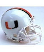 Miami Hurricanes Riddell Full Size Authentic Helmet**Free Shipping** - $248.00