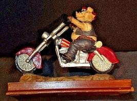 HOG Motorcycle Statue Figurine Replica 305-CVintage image 2