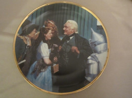 GREAT AND POWERFUL OZ collector plate WIZARD OF OZ 50th Anniversary BLAC... - $31.99