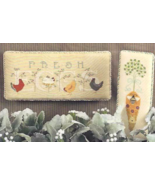 Free Range cross stitch chart Cricket Collection - $8.10