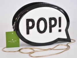 New Kate Spade Bubble Pop Black and White Purse Bag Clutch - $119.33