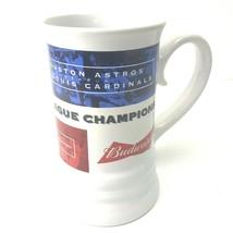 St Louis MO Cardinals Baseball 2004 National Champions Stein Mug Ceramic - $18.76