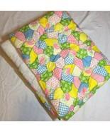 "I Like You Quiltex Handmade Crib Blanket Quilt 34"" x 43""  - $38.69"