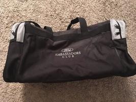 Ford Ambassadors Club Black & Gray Duffle Bag - $29.99