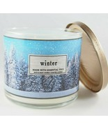 (1) Bath & Body Works Winter Fir Needle Citrus Oils 3-wick Scented Candl... - $18.80