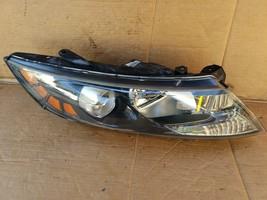11-13 Kia Optima Headlight Lamp Halogen Passenger Right RH - CLEAR LENS image 1