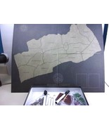 Russell County VA Virginia The Board Game Complete - $30.62