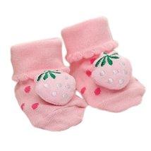 3 Pairs Non-Slip Newborn Baby Toddler Socks Comfortable Warm Stockings Baby Birt - $12.61