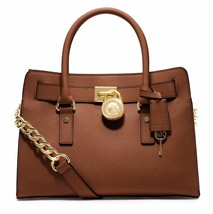 New Michael Kors Women Hamilton E/W Md Saffiano Satchel Bag Variety Colors - $239.99