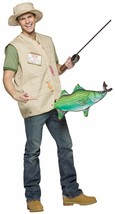 Adult Costume Funny Catch of the Day Fisherman Halloween Theater Fancy D... - $37.17