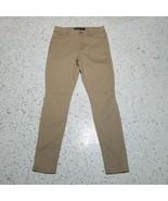 Jordache Women's Pants ~ Sz 8 ~ Light Brown ~ Super Skinny ~ High Rise - $18.80