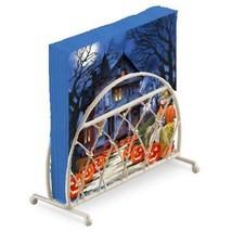gruselig Haus Kürbisse Halloween 20 x Papierservietten & Lattice - $16.35