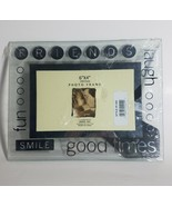 "GLASS PHOTO FRAME FRIEND GOOD TIMES 6"" X 4"" 10 CM X 15CM PHOTO STYLE F-2... - $15.67"