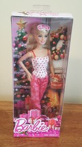 Winter Barbie Holiday Mattel 2014 - $6.00