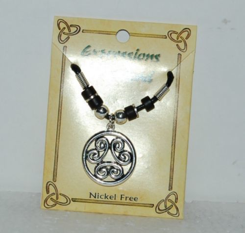 Expressions of Ireland 31029 Nickle Free Celtic Cirle Pendant Necklace