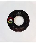 Bobby Womack Fly Me To The Moon, Take Me 1968 Minit 32048 '1A/1A' - $14.16